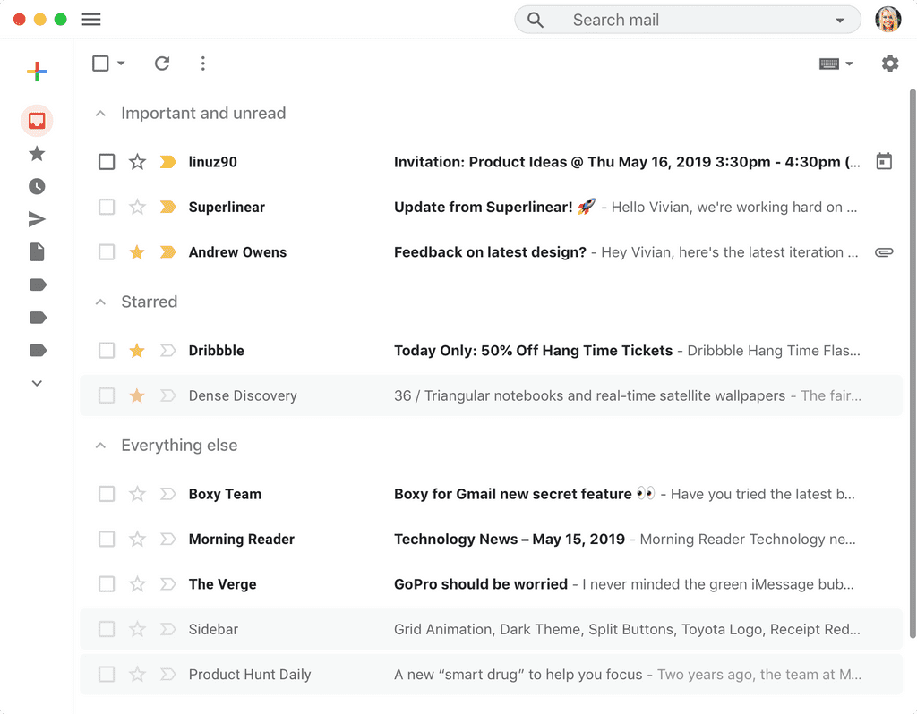 Boxy for Gmail app screenshot 10